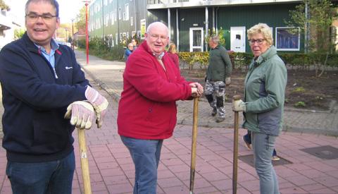 Geslaagde Natuurwerkdag in Nieuwegein
