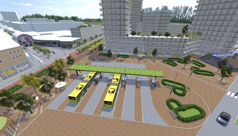 Groen licht voor vernieuwing Stationsgebied in Nieuwegein