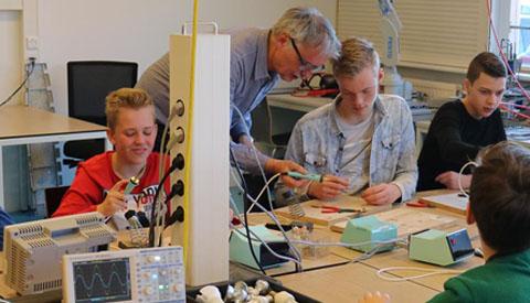 'Tech Campus Challenge' op het ROC in Nieuwegein