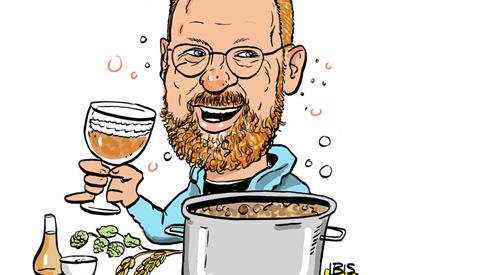 PENTekening: 'Bierbrouwerij in je schuur'