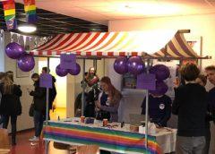 D66 Nieuwegein in gesprek met CALS scholieren op Paarse Vrijdag