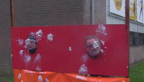 Geslaagde Red Nose Day op het Anna van Rijn Lyceum