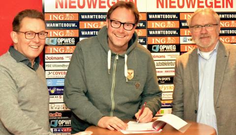 Gerrit Plomp tekent als hoofdtrainer 2019-2020 bij SV Geinoord