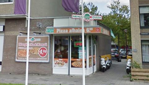 New York Piza op Muntplein weer overvallen