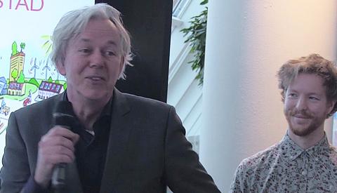 Video: Leerlingen CALS college presenteren ideeën voor duurzame vernieuwing Schansen-Noord