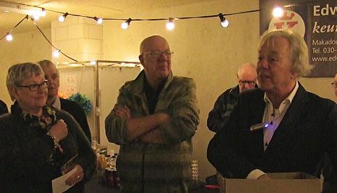 Bewoners appartementencomplex Van Reeshof vierden feestje met omwonenden