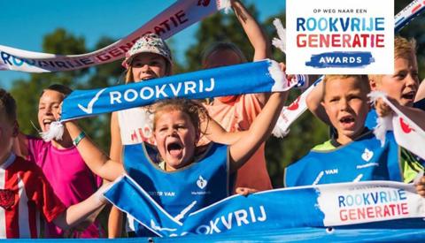 Mixed Hockey Club Nieuwegein genomineerd voor 'Rookvrije Generatie'