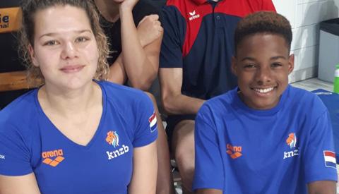 Schoonspringers Aquarijn actief op Eindhoven Diving Cup