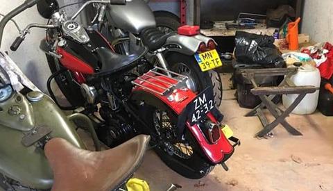Meerdere Harley's gestolen in Nieuwegein