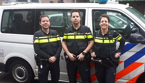 Drie nieuwe wijkagenten voor Nieuwegein