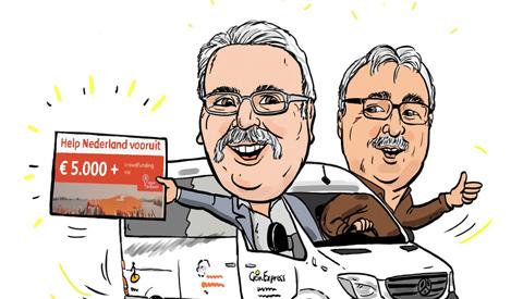 PENTekening: '5.000,- euro voor de Gein Express'