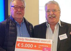 5.000,- euro voor de Gein Express