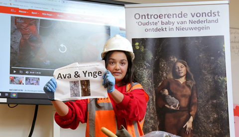Winnende namen voor oudste baby van Nederland en haar moeder bekend