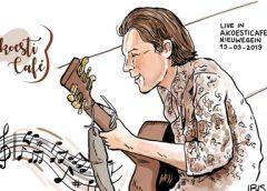 PENTekening: 'Youri Lentjes in het eenentwintigste AkoestiCafé'