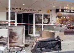 Brand in kaasspeciaalzaak Van Aly's op Makado expres aangestoken