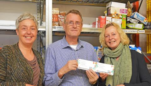 Voedselbank Nieuwegein krijgt kaarten voor 'Het Groot Niet Te Vermijden'