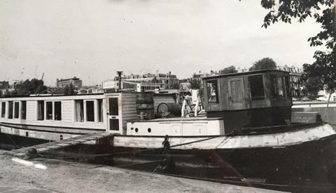 Bijzonder schip op de helling bij Museumwerf Vreeswijk