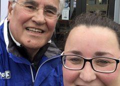 Nieuwegeiner Rob Toft loopt samen met dochter de Alpe d'Huzes 2019