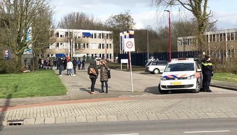 Video Update: ROC in Nieuwegein ontruimd vanwege verdacht pakketje