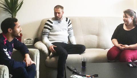 Speler FC Utrecht helpt mantelzorger in Nieuwegein