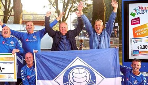 Achterban clubs en verenigingen in Nieuwegein brengen 15.937 euro bij elkaar voor de clubkas