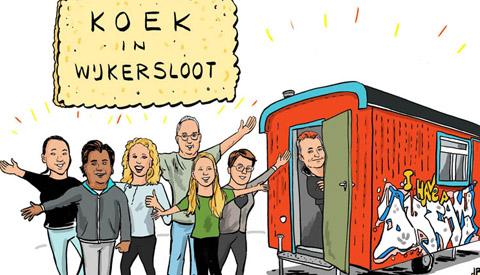 PENTekening: 'Klimmen Op Eigen Kracht in Jutphaas/Wijkersloot'