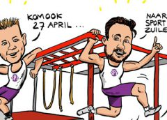 PENTekening: 'Lekker sportief in park Kokkebogaard in Zuilenstein'