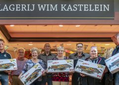 Winnaars bekend van de Teppanyaki bakplaat bij Slagerij Wim Kastelein