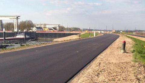 Verkeerssituatie voor auto's en fietsers rond Prinses Beatrixsluis vanaf 23 april naar nieuwe vaste situatie