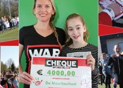 Mauritsschool haalt 4000 euro op voor War Child!