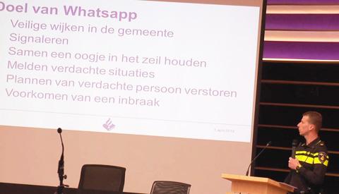 Steeds meer WhatsApp-buurtpreventiegroepen