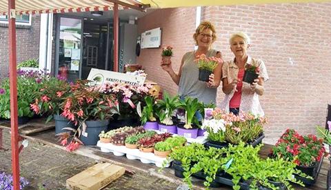 Plantenmarkt op Fort Vreeswijk