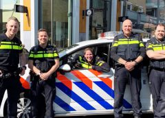 Vrijdagmiddag 'borrel' met de wijkagenten in de binnenstad
