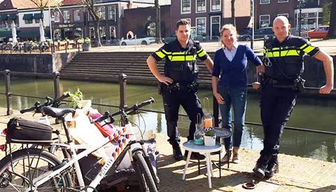 'Coffee met een Cop' in Vreeswijk