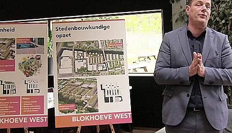 Wethouder Hans Adriani: 'Hoeverijk in Blokhoeve wordt een sportieve buurt'