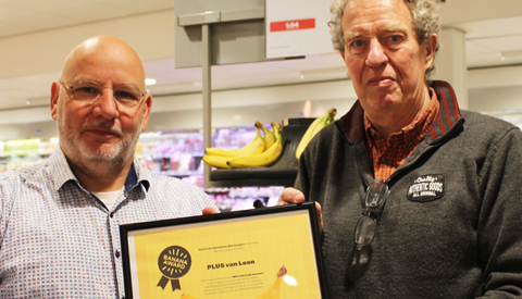 Banana Award voor Plus van Loon