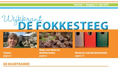 Wijkkrant Fokkesteeg nu ook downloadbaar op pen.nl