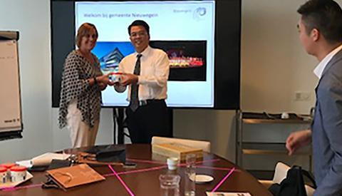 Chinese delegatie bezoekt Nieuwegein