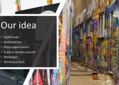 Graffiti-Wall wint pitch Omgevingsvisie Openbare Ruimte