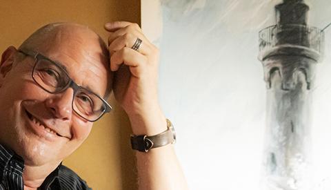 Portret van de week: 'Wie is daar de tekenmeester in Nieuwegein'