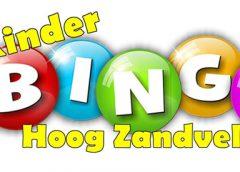 Kinderbingo op Buurtplein Zuid in Hoog-Zandveld