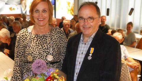 Koninklijke Onderscheiding voor de heer Johan Olthof