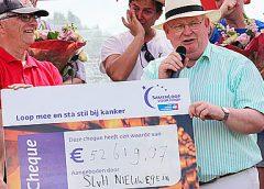 'SamenLoop voor Hoop' in Nieuwegein haalt enorm bedrag op voor KWF Kankerbestrijding