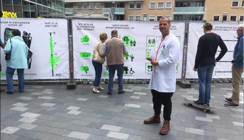 Bezoekers Muntplein en City in gesprek over Omgevingsvisie