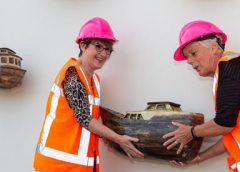 Tweede leven voor kunstwerk 'Scheepjes' bij Prinses Beatrixsluis