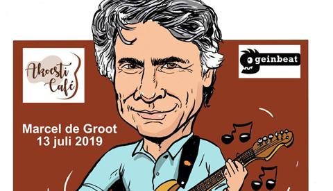 PENTekening: 'Geinbeat en AkoestiCafé komen met Marcel de Groot'