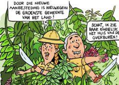 PENTekening: 'Nieuwegein groenste gemeente van Nederland'