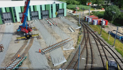 Bouw tramremise Nieuwegein gaat eindfase in