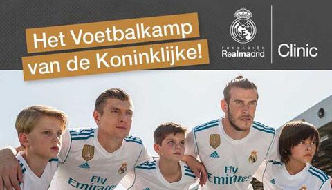Real Madrid komt naar Nieuwegein