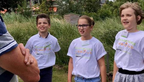 Reijn Horsman benoemd als 4e kinderambassadeur voor de wijk Fokkesteeg